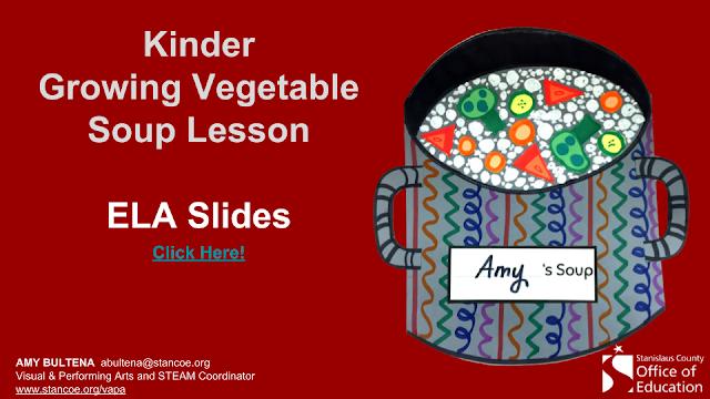 Growing Vegetable Soup: A Visual Art, Math, & ELA Integrated