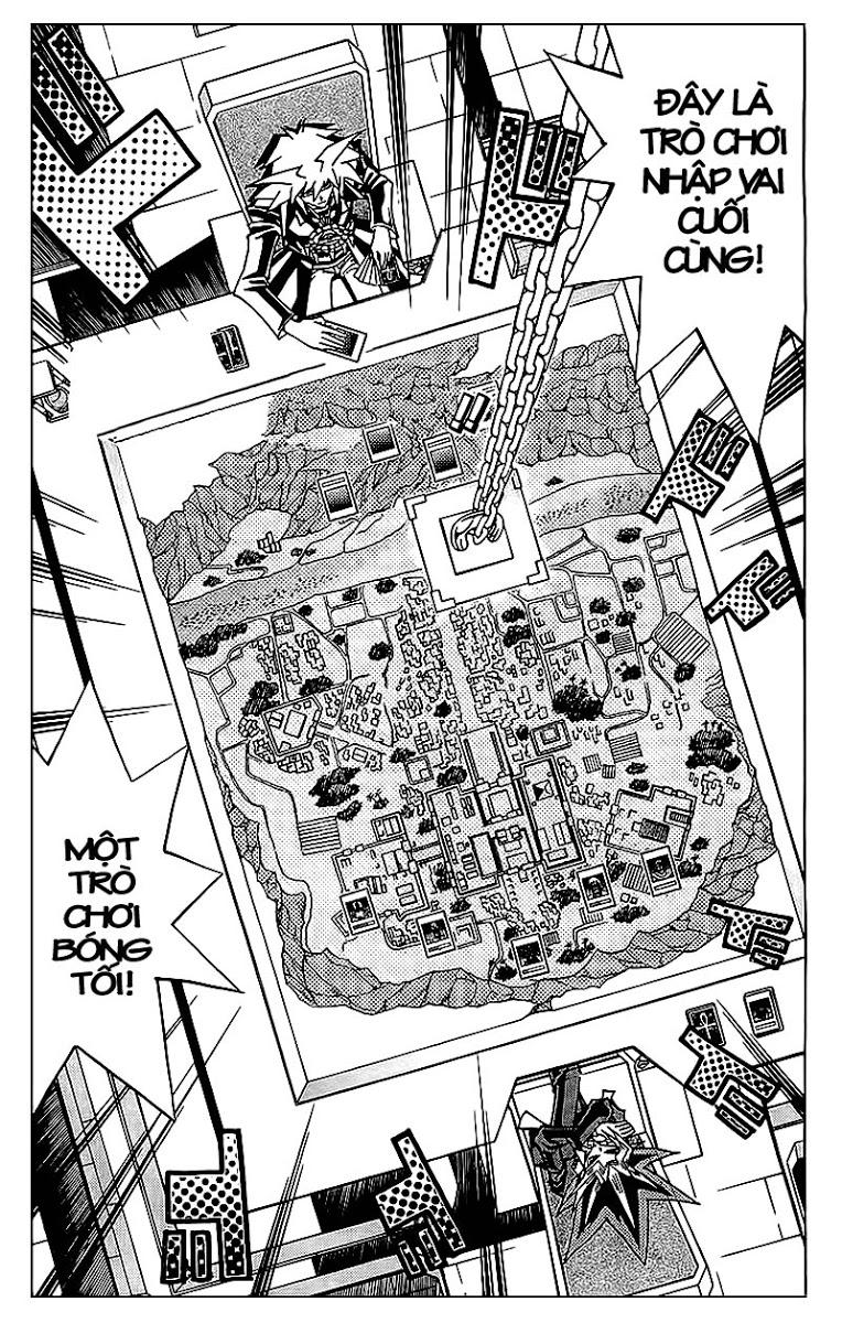 YUGI-OH! chap 320 - trò chơi bóng tối cuối cùng trang 3