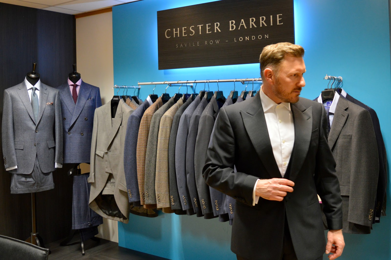 dfd9cd317529 Craig of That Dapper Chap gets fitted for a red carpet tuxedo by Chester  Barrie of Savile Row