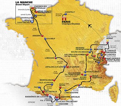 Tour de France route 2016