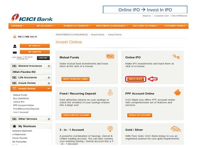 Apply ipo through dbs internet banking