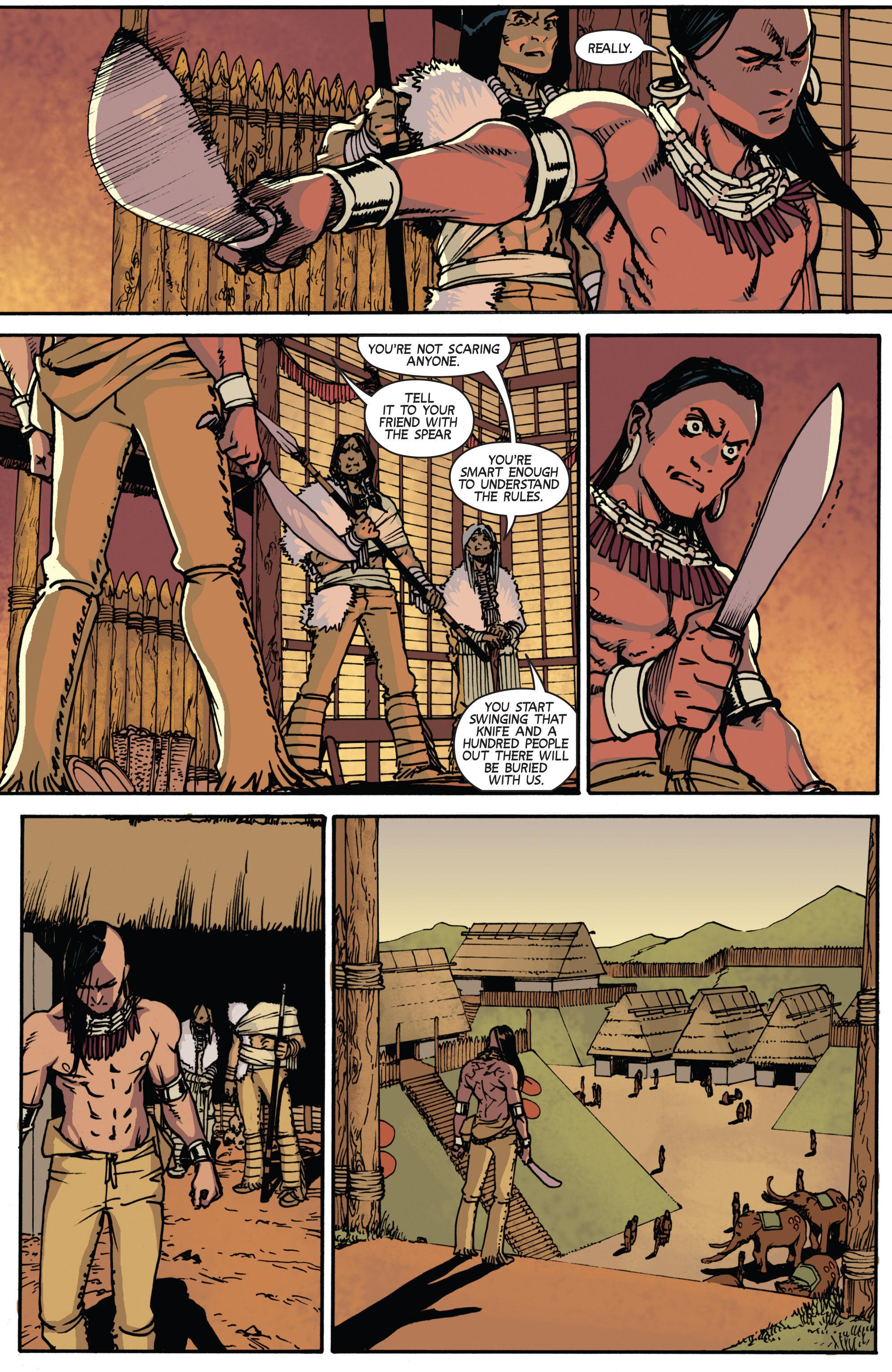 Read online Turok: Dinosaur Hunter (2014) comic -  Issue # _TPB 2 - 34