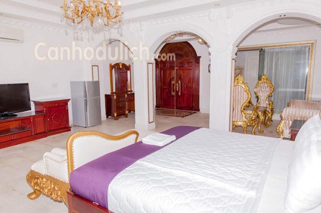 Phòng ngủ tại villa Sea 1 Vũng Tàu