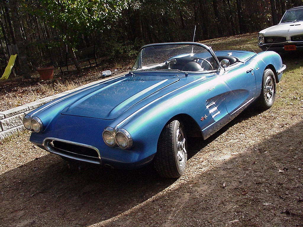 Free Review Cars: 1960 Corvette The Muscle Cars Legend