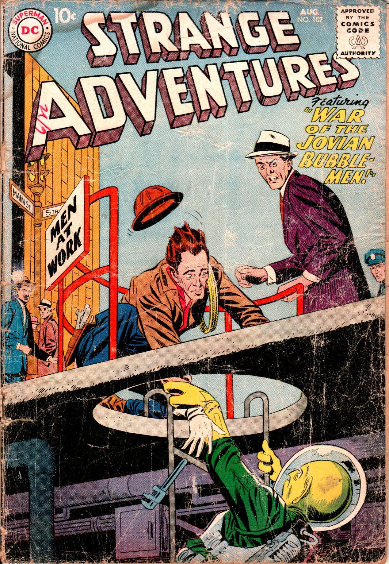 Strange Adventures (1950) issue 107 - Page 1