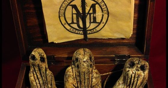 Propnomicon Paleolithic Cthulhu Idols