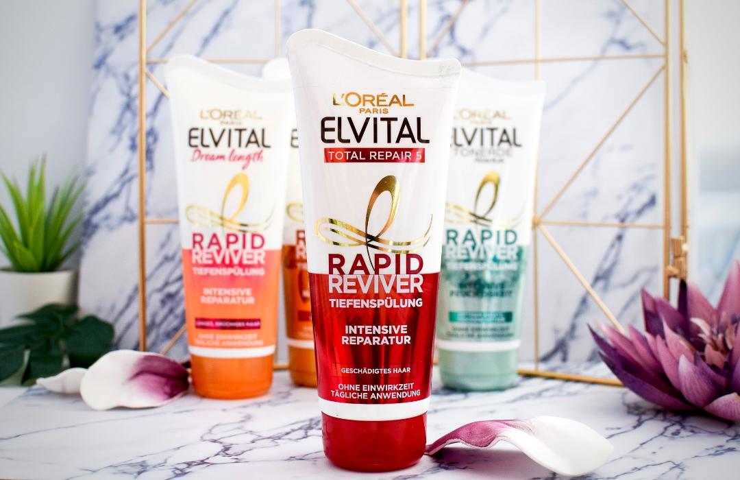 Elvital Total Repair für geschädigtes Haar / Erfahrungsbericht
