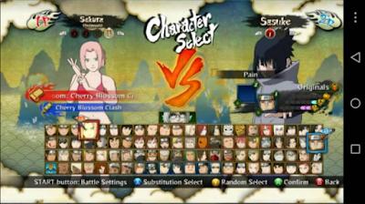 Narsen Mod Naruto Ninja Storm 3 Apk