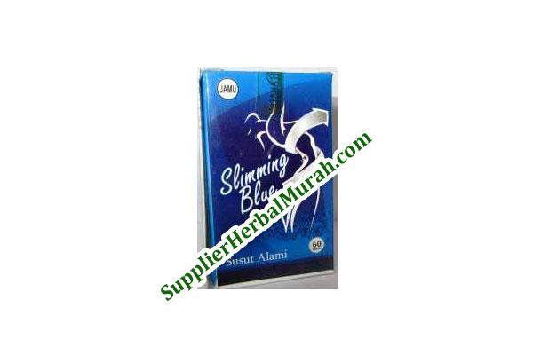 GROSIR Slimming Blue Susut Alami 12 Kotak