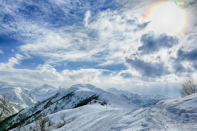 Panorama dal Monte Pigna verso la Gardiola e la Val Ellero