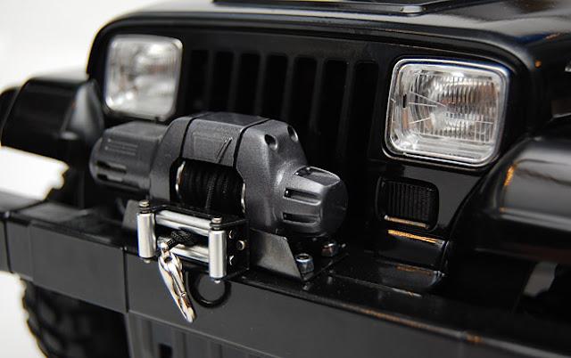 Tamiya Jeep Wrangler winch