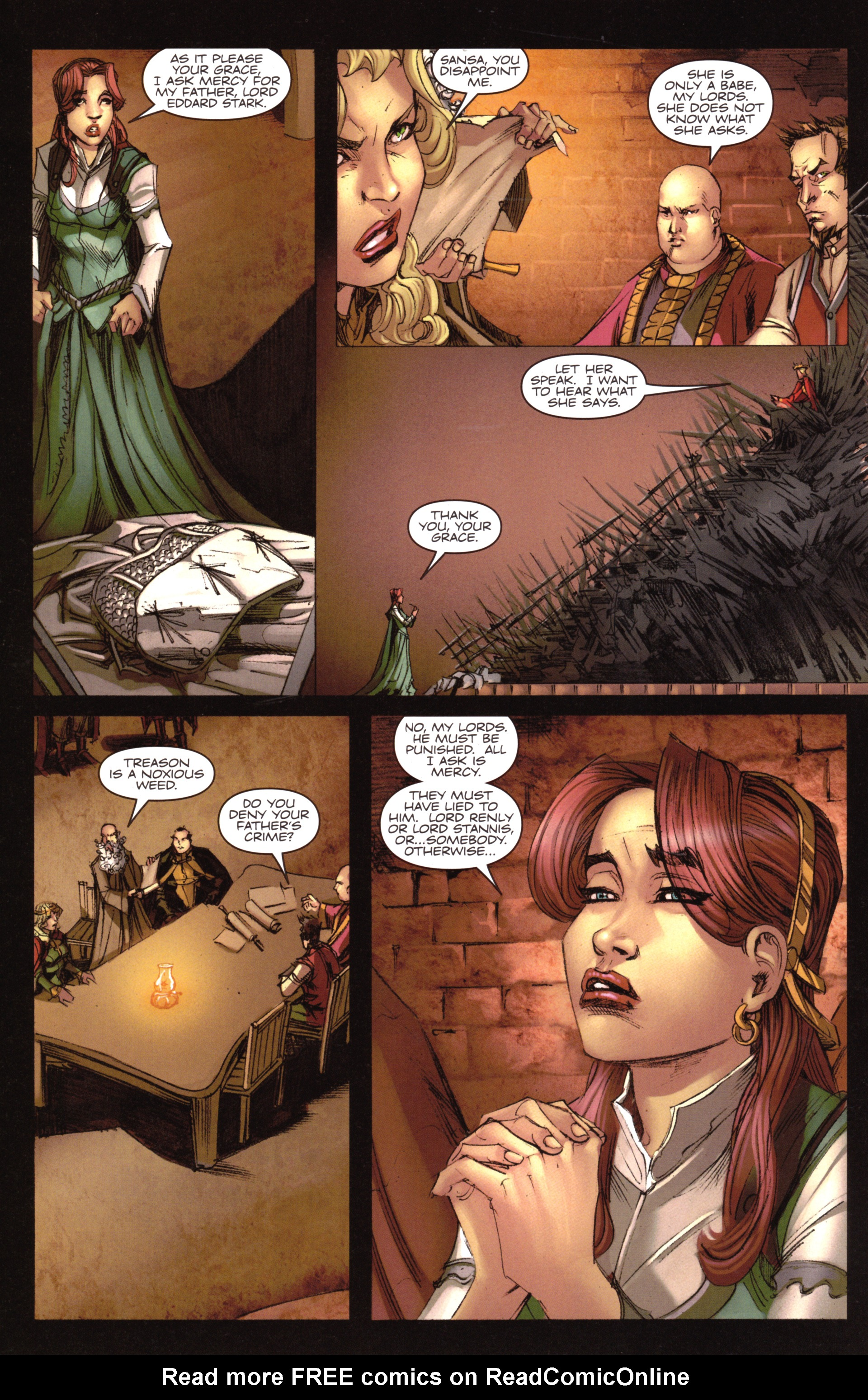 Read online A Game Of Thrones comic -  Issue #18 - 22