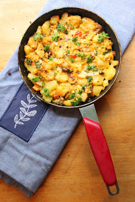 Cozy Turkey Hash - Using Turkey Leftovers