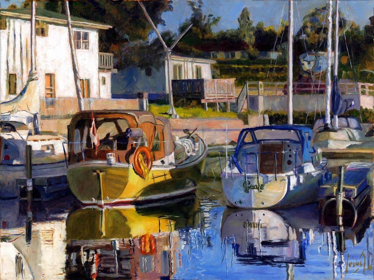 House Of Paint Boat Ottawa