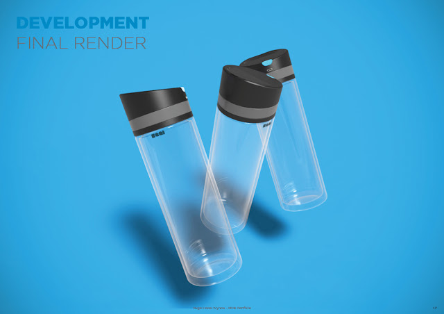 SMART WATER BOTTLE - Concept 2016 - Gadgets Arena