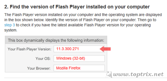 Which Version Of Flash Is Installed