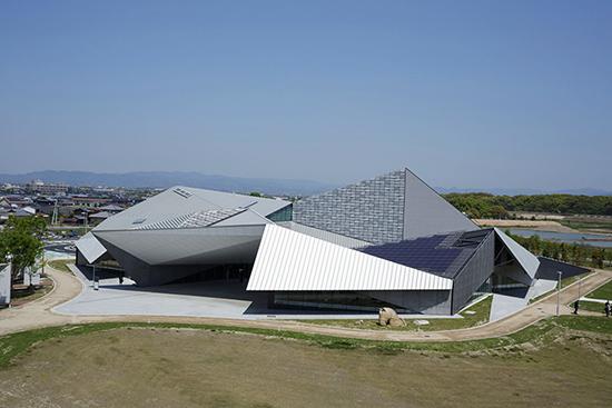 contoh Atap origami