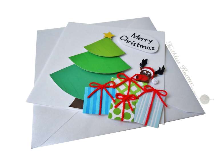 Quilled Christmas Card / Quillingowa Kartka Bożonarodzeniowa