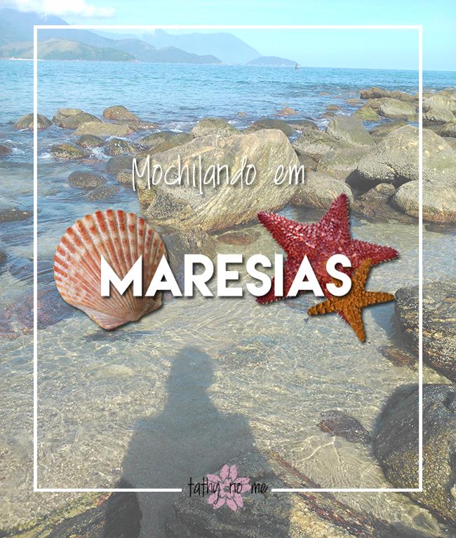 Mochilando em Maresias