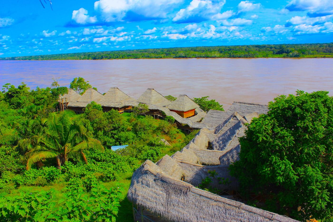 peruvian amazon ecolodge by Marañon river