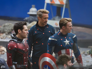 Avengers 4 set photos featuring Tony, Scott and Captain America