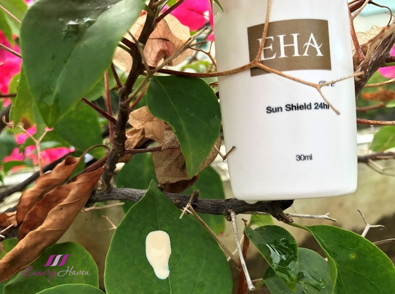 eha skincare products tinted sunscreen spf 100