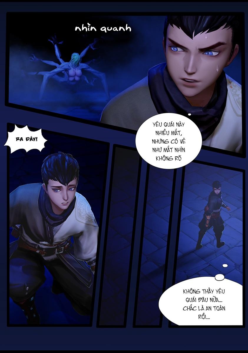 Thủ Mộ Bút Ký - Chapter 38: Huyết Họa 1 - Pic 6
