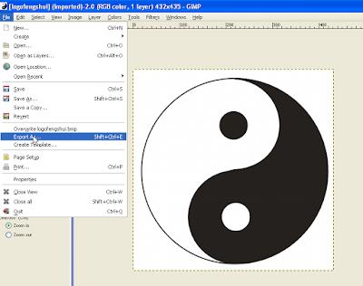 Cara Convert Gambar di GIMP 4