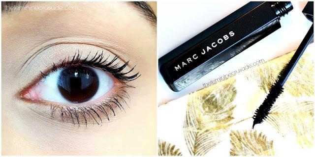 Marc Jacobs Velvet Noir Major Volume Mascara (swatch)