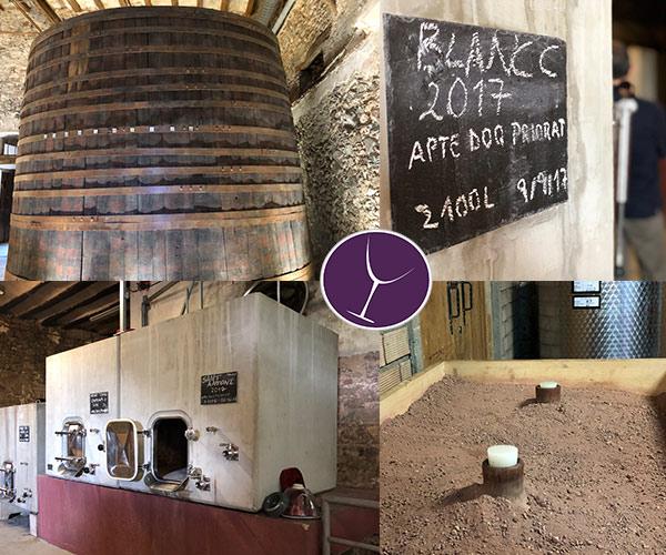 Bodega Scala Dei, Vino, Fermentación, Garnacha