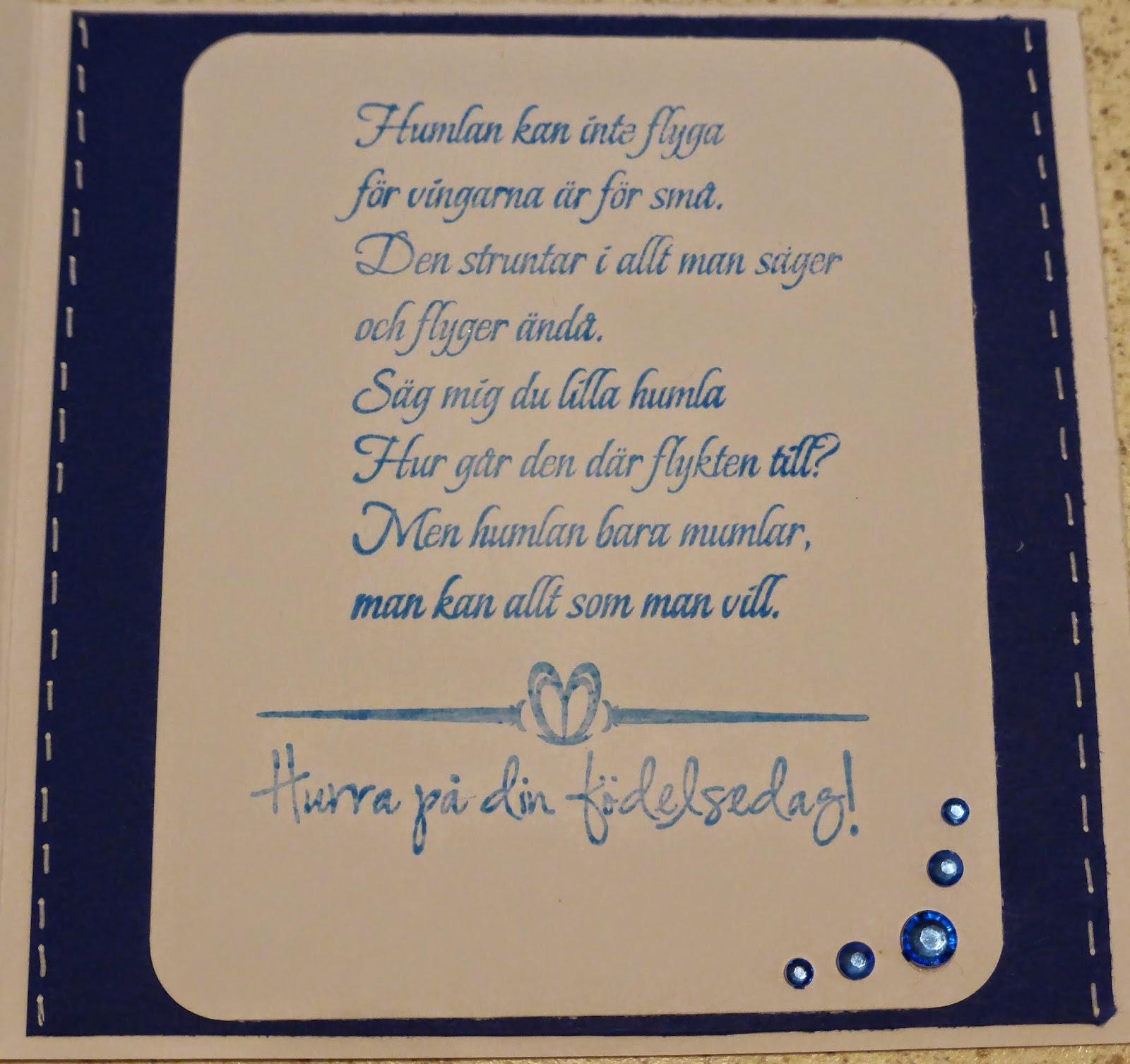 att skriva på födelsedagskort JoY tillsammans: Februaris FödelsedagsKort.. att skriva på födelsedagskort