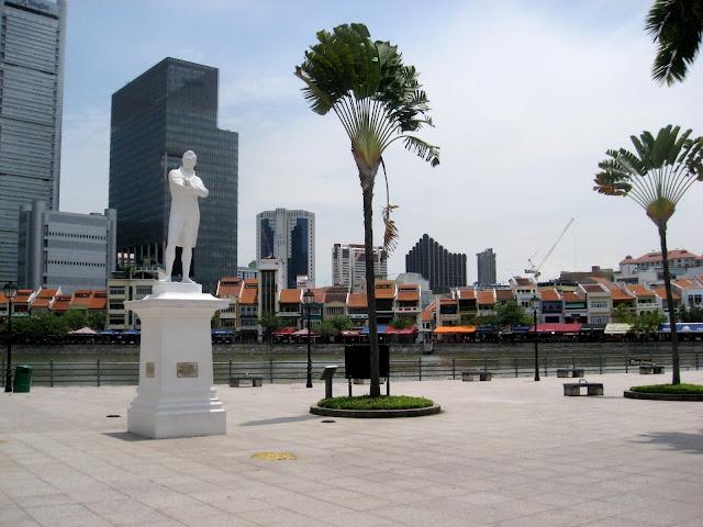 Raffless Landing Site Tempat Wisata di Singapura : tempatwisata.biz.id