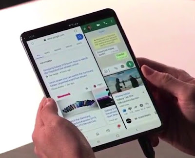 Samsung Terbaru Galaxy Fold The Best Features