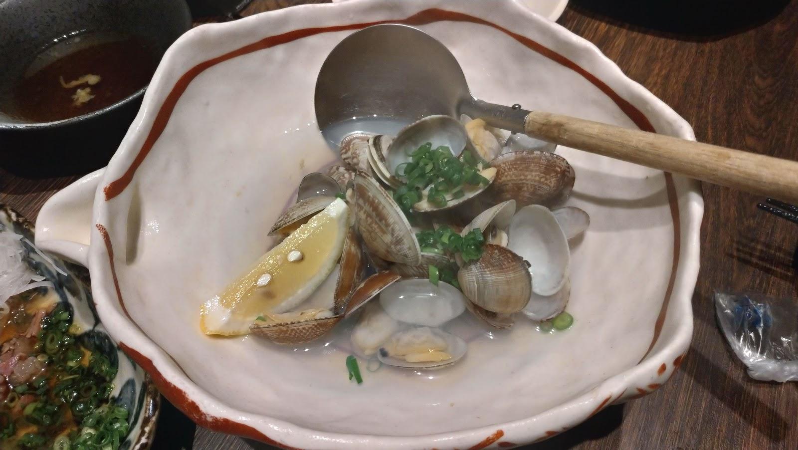 あさりの酒蒸し 長崎市居酒屋の魚店亜紗 (うおだなあさ)がスーパーおすすめ!