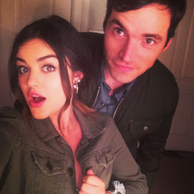 Lucy Hale says PLL co-star Ian Harding is a bad liar