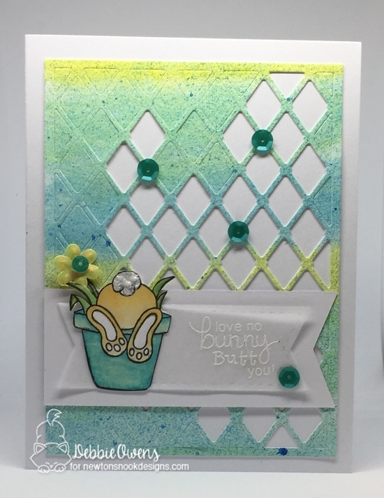 Love no bunny butt you by Debbie showcases Bunny Hop by Newton's Nook Designs; #newtonsnook