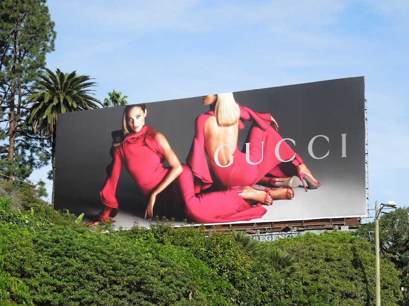 Gucci Spring 2013 billboard