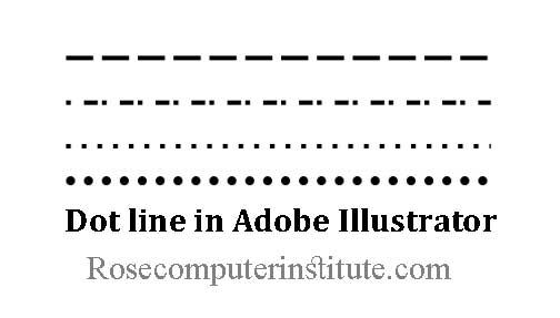 Dot Line in Adobe Illustrator Tips