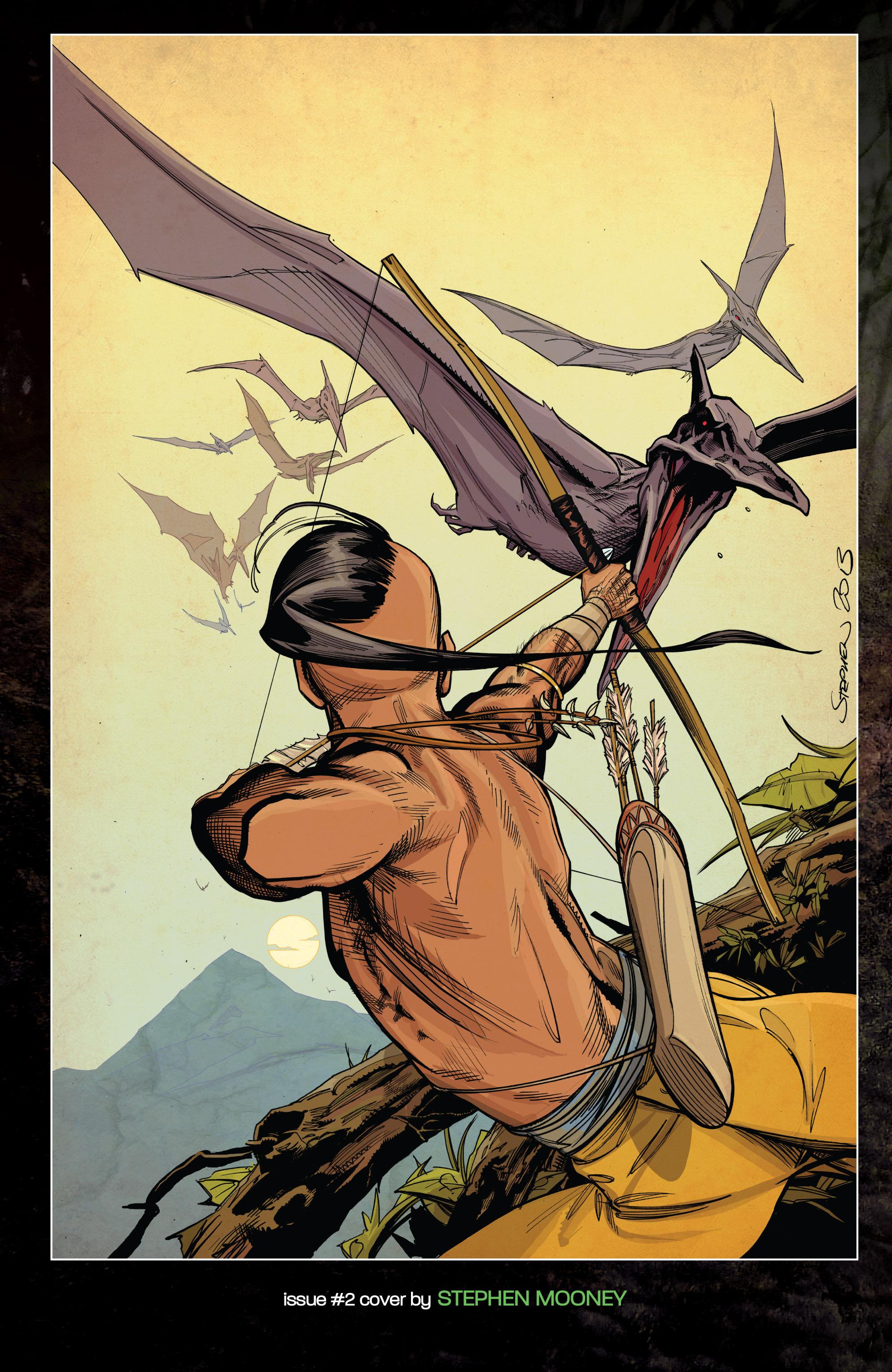 Read online Turok: Dinosaur Hunter (2014) comic -  Issue # _TPB 1 - 135