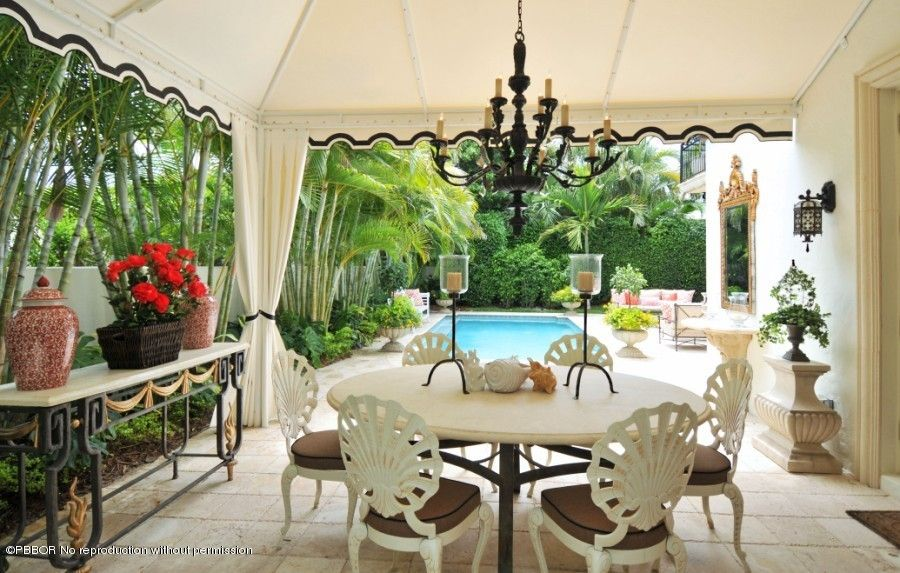 Palm Beach Chic The Glam Pad