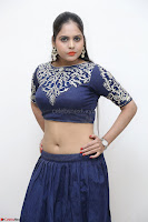 Ruchi Pandey in Blue Embrodiery Choli ghagra at Idem Deyyam music launch ~ Celebrities Exclusive Galleries 018.JPG