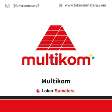 Lowongan Kerja Palembang, Multikom Juni 2021