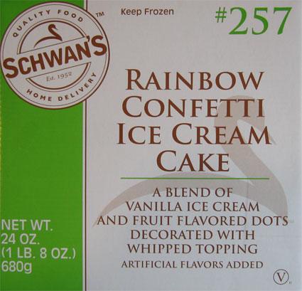Schwan S Confetti Cake Ice Cream
