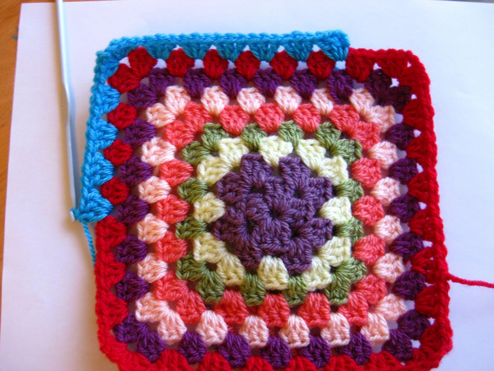 Bunny Mummy How To Crochet A Granny Square