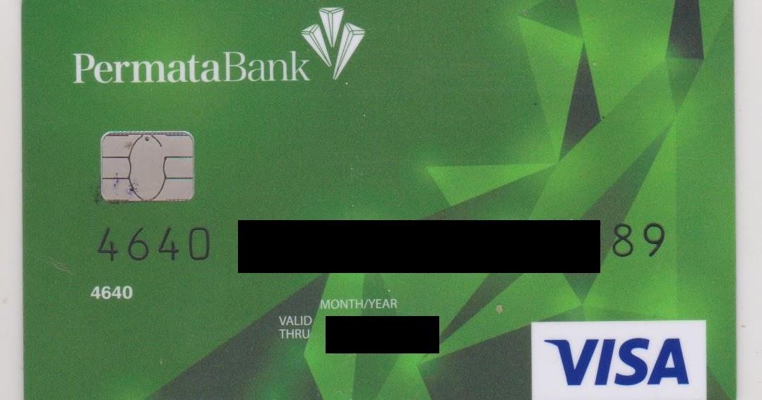 Blog Amirz: KARTU DEBIT (ATM) VISA BANK PERMATA SUDAH BISA