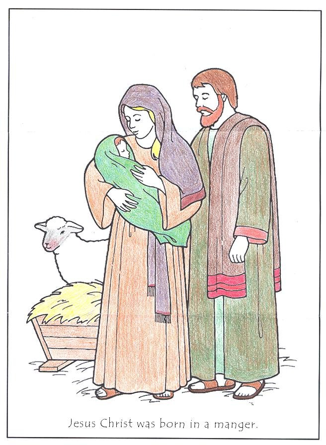 jesus caring coloring pages - photo #47