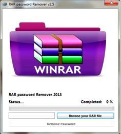 Winrar Password Unlocker serial Number
