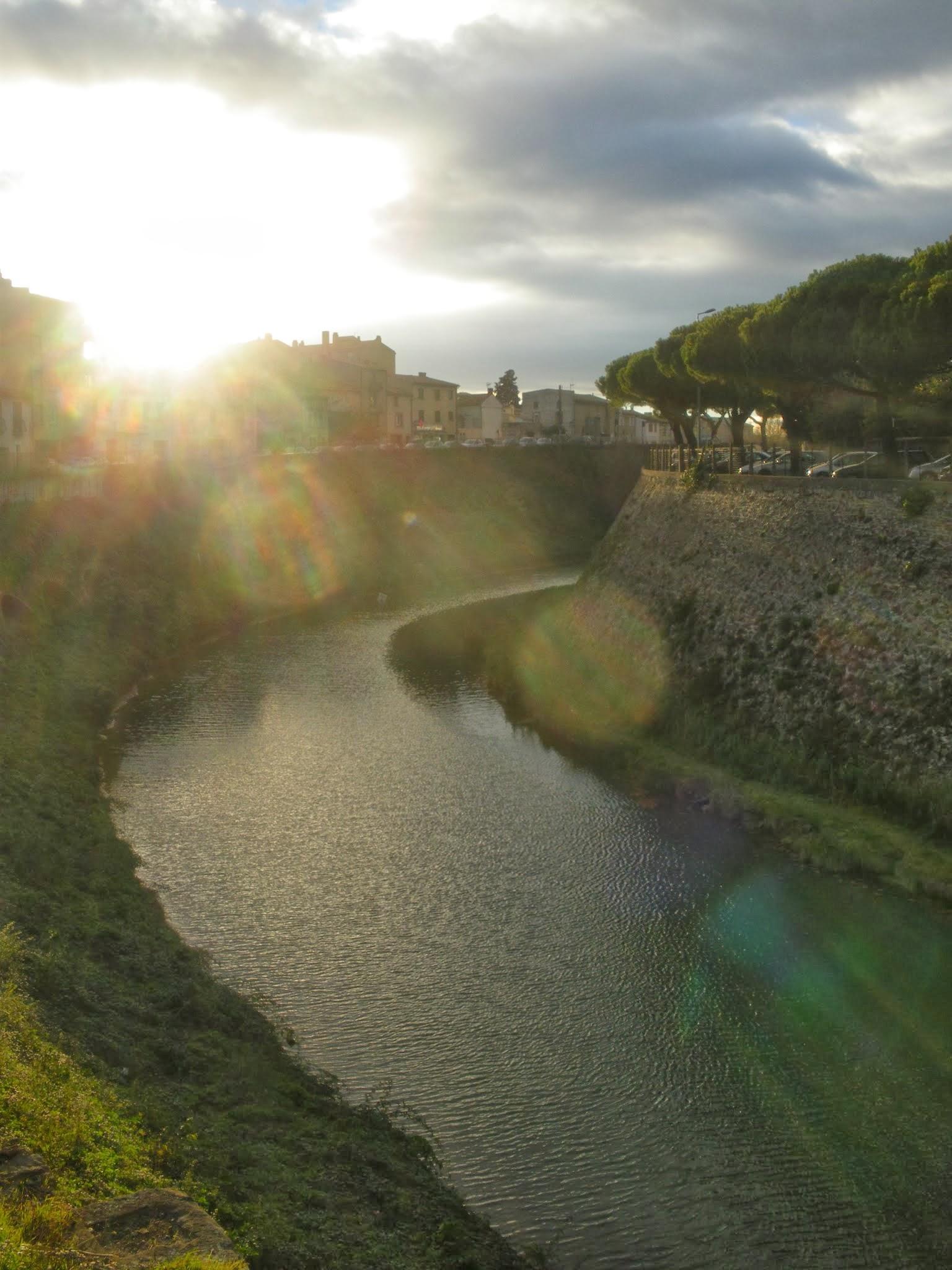 Canal du Midi Carcassonne Aude