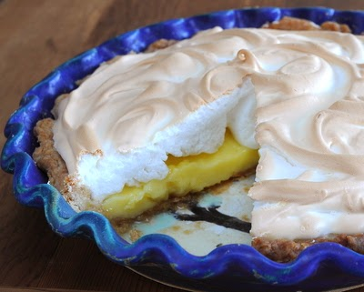 Lemon Meringue Pie, a long-time favorite in the South and Midwest. Not too sweet, not too sharp, a classic.