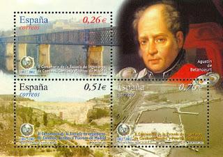 Августин де Бетанкур (1758-1824 гг.), архитектор, строитель и инженер-механик